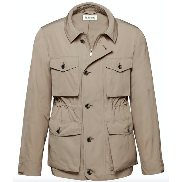 The Hunt Taupe Field Jacket