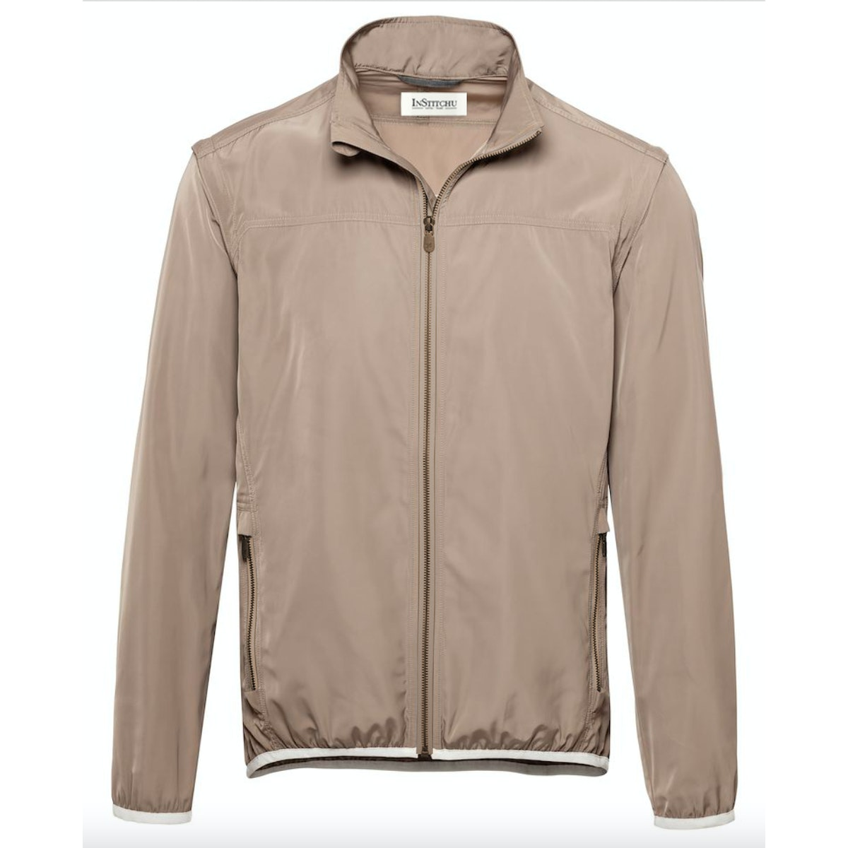 The Woods Taupe Golf Jacket