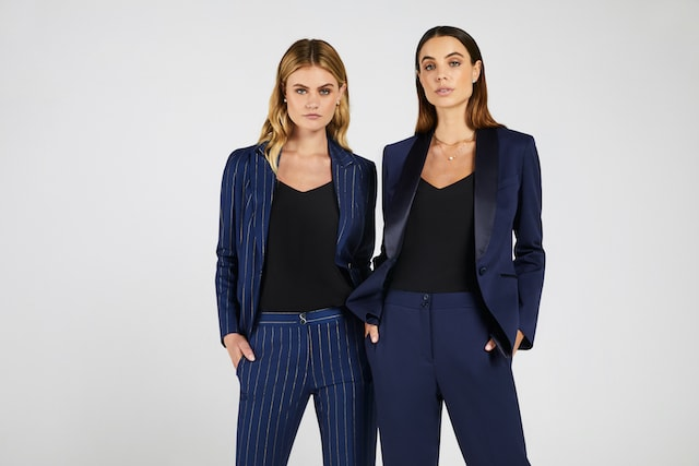 Women shot with suits